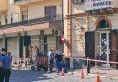 Nola, tragedia sfiorata a piazza Santorelli. Perforato cavo di alta tensione, scoppia un incendio