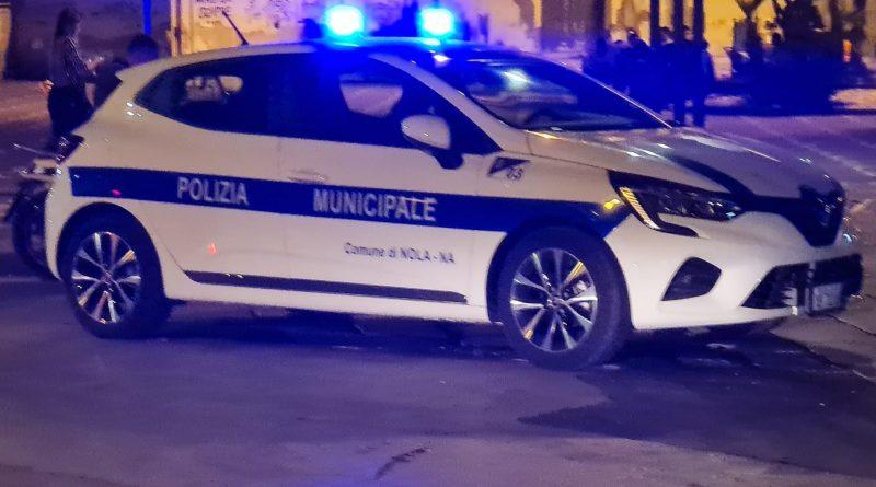 Nola, movida: pattuglia della Polizia municipale torna a presidiare le strade del centro